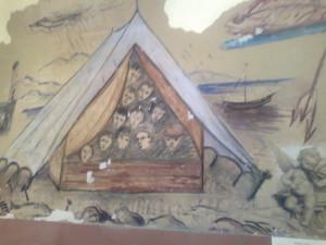 La tenda alle dune